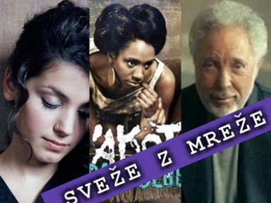 Sveže z mreže: Katie Melua, Y'akoto in Tom Jones osebno