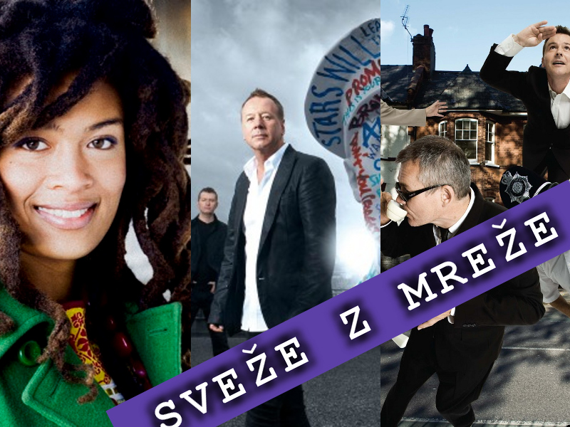 Sveže z mreže: Valerie June, Simple Minds in Madness